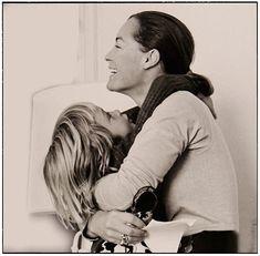 Romy & David - 1973, Paris - photographie de Helga Kneidl