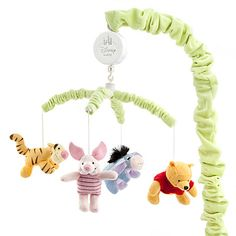 Winnie the Pooh and Pals Musical Mobile for Baby - Little pumpkin is sure to have a good sleep. Yay we have bought this from the Disney Store! Winnie The Pooh Nursery, Winne The Pooh, Disney Nursery, Disney Winnie The Pooh, Baby Disney, Baby Kids, Baby Boy, Musical Mobile, Baby Supplies