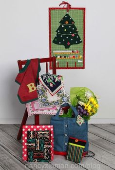 Sew Gifts–Make Memories with Mary Mulari and Nancy Zieman. As seen on the TV show Sewing With Nancy on PBS.