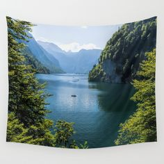 Buy Germany, Malerblick, Koenigssee Lake III Wall Tapestry by UtArt. Worldwide shipping available at Society6.com. Just one of millions of high quality products available.