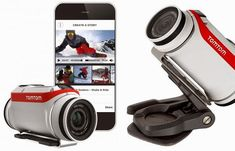 TomTom Bandit Action Camera Launches / TechNews24h.com