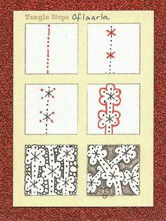 Oflaarla tangle pattern
