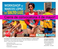 Workshop de Marcos Lopez en Salto Luz.