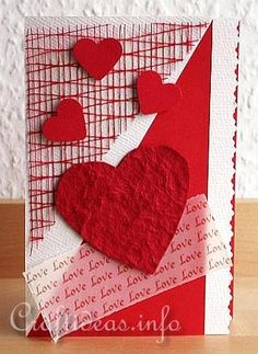 Valentine's Day Card- Make it for that special someone