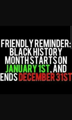 Black Is Beautiful, Black History, Growing Up