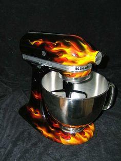 Hot Rod Kitchen Aid Mixer