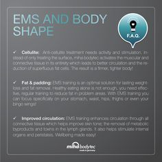 ems training shapes your body