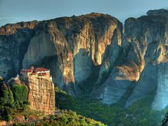 Meteora, a landmark of religion and geology