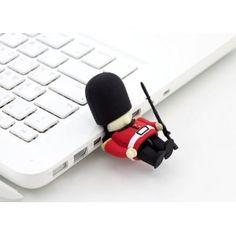 Amazon.com: Bone Collection 8GB USB Flash Drive Queen's Guard: Computers & Accessories