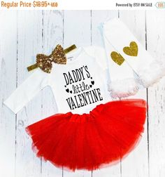 Valentine Day Outfit 1st Valentines Day First Valentines Day Valentine Outfit Valentine Shirt Valentine Onesie Girl Outfits Girl Clothes