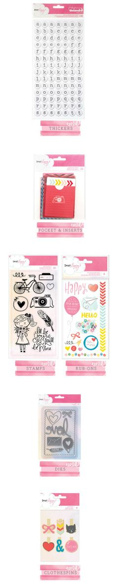 American Crafts Dear Lizzy Daydreamer | pinning because I totally want the dies!!!!!