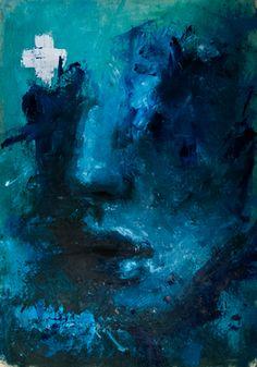 "Saatchi Online Artist Davide Cambria; Painting, ""Untitled"" #art"