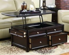 Lift Top Coffee Table Something Like This May Eliminate The Need For A Dinner