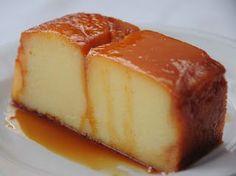 Budin de Leche Condensada, Recetas de Cocina Costarricenses