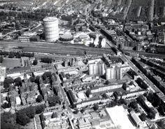 Gas works and railway • Ladbroke Grove • 1965