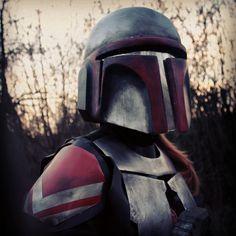 Mandalorian armor / metal armor / beskarschmiede.de / Lumi