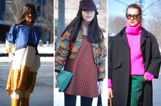 Street Style Snaps From New York Fashion Week: Day Three