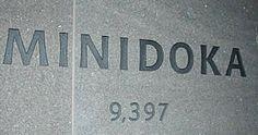 Minidoka memorial stone