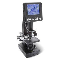 The Video Screen Microscope - Hammacher Schlemmer
