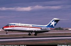 Texas International Airlines Douglas DC-9-14 I flew on these a lot during the 70s.