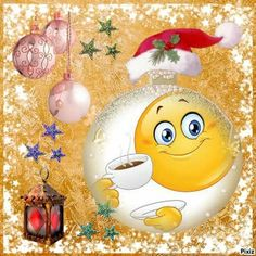 I will atayvtge calm happy palm tree free n clean n enjoy the happiness of the breeze ! Smiley Emoticon, Happy Smiley Face, Emoticon Faces, Smiley Faces, Christmas Coffee, Christmas Morning, Christmas Wishes, Merry Christmas, Happy New Year Wishes