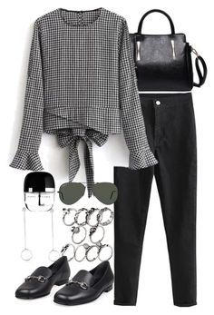 """""""Rosegal 2"""" by nikka-phillips ❤ liked on Polyvore featuring Gucci, Ray-Ban, Marc Jacobs and rosegal"""