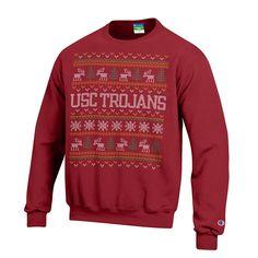 USC Trojans Gridiron Pullover Jacket - Cardinal | クリスマス ...