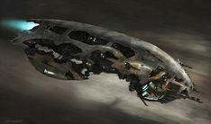 concept ships: Concept ships by Richard Smitheman
