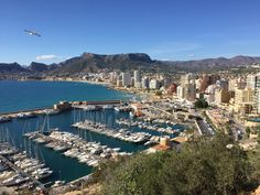 A Spectacular View On A Beautiful Sunny Day Over Calpe From The Ifach - Popular Holiday Destinations, Moraira, Pool Maintenance, New Things To Learn, Summer Months, Amazing Architecture, Old Town, The Locals, Great Places