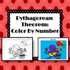 Pythagorean Theorem: Color By Number Activity. Even secondary students love to color!