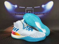 wholesale dealer 877c4 01695 ADIDAS D ROSE 8 BOOST GREY MULTI COLOR BASKETBALL SHOES  adidas   adidasdrose  adidasboost