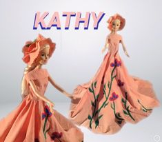 #dress#dress-doll#child#decor#style#designer#fabric#sewn#hand-sewn#wonderful#paint#toys#gift#barbie#paint Barbie, Hand Sewn, Etsy Seller, Child, Doll, Paint, Unique, Dress, Clothes