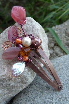 Shealynn's Faerie Shoppe: The Colors of Fall hair clip