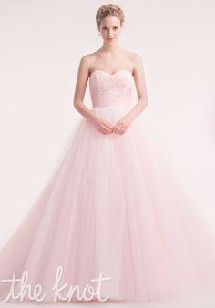 Pink beaded strapless ballgown | 7708 from Alita Graham