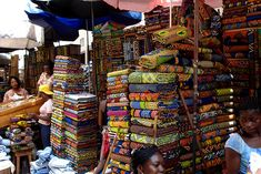 Togo Tourism | There's a colorful Grand Market where you can get everything that a ...