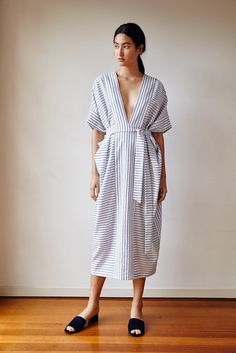 Beach Stripe Robe