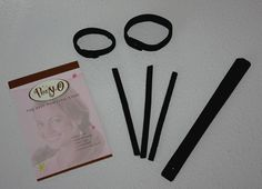 This is the best hair accessory! You can use it to make ponytails, messy buns, buns, updos, french twists.