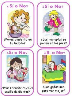 Trivial: tarjetas Acertando Cognitive Activities, Reggio, Speech Therapy, Spanish, Preschool, Education, Comics, Psp, Ideas Para