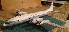 Ilyushin Il-18 Free Airplane Paper Model Download - http://www.papercraftsquare.com/ilyushin-il-18-free-airplane-paper-model-download.html#1100, #AirplanePaperModel, #Coot, #Il18, #Ilyushin, #IlyushinIl18