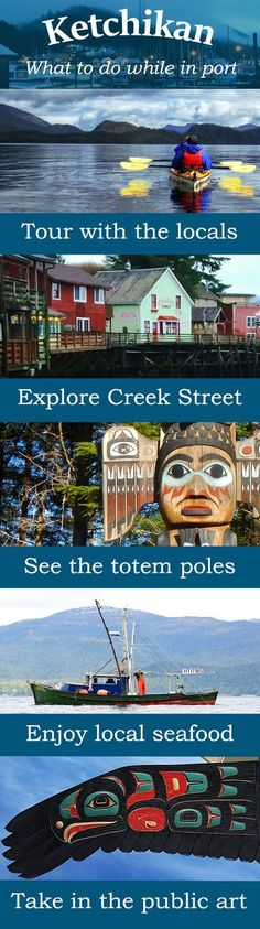 Things to Do On A Cruise Stop in Ketchikan, Alaska — Southeast Sea Kayaks
