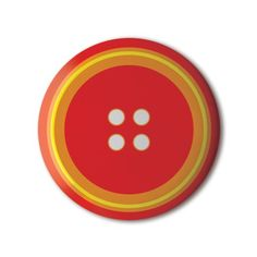 ❤️ #BBOTD Stereohype #button #badge of the day by Rieme Gleijm https://www.stereohype.com/468__rieme-gleijm #pin #fashion #red