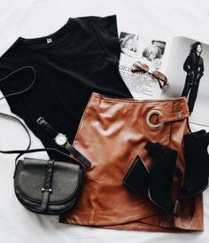 Vivan Skirt Cognac