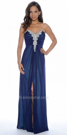 Jewel Encrusted Sweetheart Prom Dresses By Decode 1.8 #dresses #fashion #beautiful #elegance #designer #edressme #designerdresses #Decode1.8