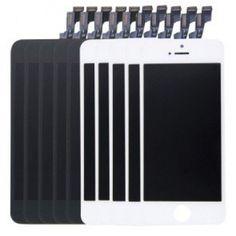 Pack 10 Unidades - Pantallas iPhone 5S Blancas y Negras Repuesto iPhone 5S