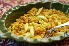 Chickpea Apple Rice from Healthful Indian Flavors with Alamelu (Hippocrene Books, Healthy Indian Recipes, Vegetarian Recipes, Easy Cooking, Cooking Recipes, Turkish Recipes, Ethnic Recipes, Eat To Live, Food Allergies, Food For Thought