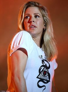 Ellie Goulding puts on high energy performance at Bonnaroo Festival Ellie Golding, Bonnaroo Music Festival, My Favorite Music, Celebs, Female Celebrities, Put On, Music Artists, Hailee Steinfeld, Illuminati