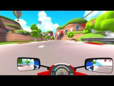 Download a VR experience!  VR Karts is a fun and approachable online kart racing game designed from the ground up for the new generation of VR headsets. http://www.vrcreed.com/product/vr-karts/