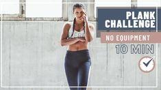 10 MIN PLANK CHALLENGE // Plank Workout zum Mitmachen - Tina.Fitness Plank Challenge, Workout Challenge, Plank Workout, At Home Workouts, Fit Women, Challenges, Fitness, Fit Females, Home Workouts
