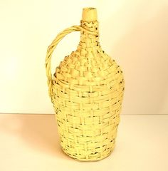 French Country Style Basket Wrapped Wine Jug by BountifulGoods, $45.00