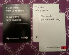 "When it made a valid point. | 26 Times ""Cards Against Humanity"" Was Almost Too Perfect"